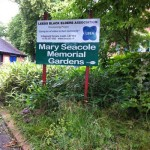Mary Seacole gardens before work starts