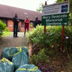 Mary Seacole Gardens after weeding